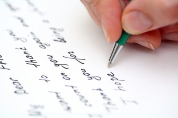 The loss of art of letter writing
