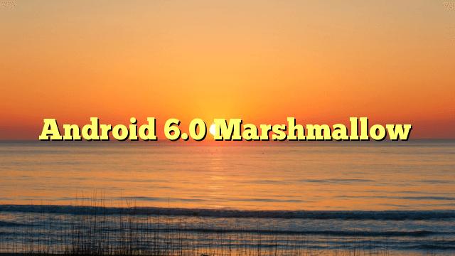 Android.Marshmallow