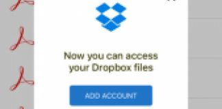 Adobe Integration with Dropbox