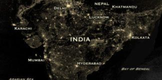 India on Diwali Night