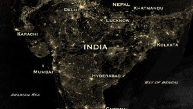 India on Diwali Night