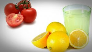 tomatoes-with-lemon-juice