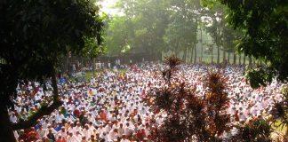 Eid Prayers at Barashalghar Debidwar Comilla