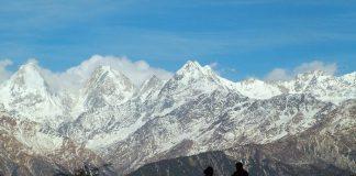 Panchchuli Peaks near Munsiyari Uttarakhand