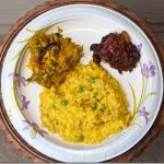 bhajja moog daller khichuri