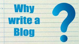 why-write-a-blog