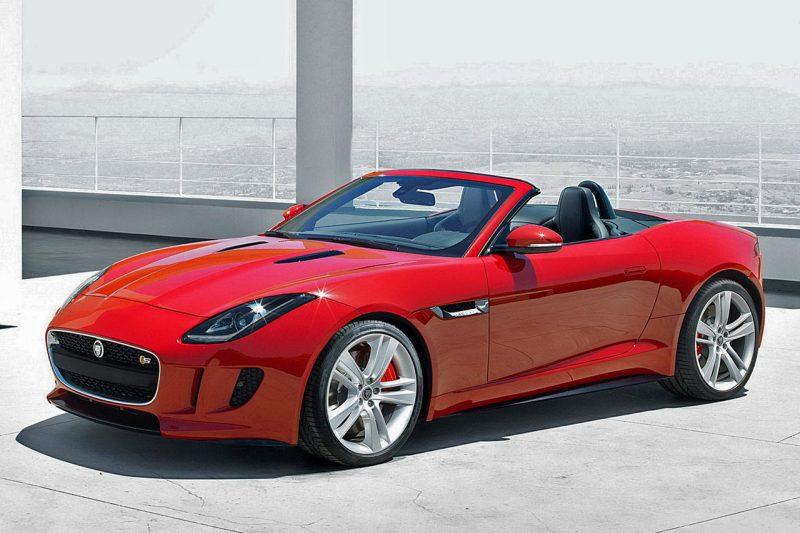 1. The Jaguar F Type