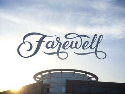 Farewell, my beloved bugger