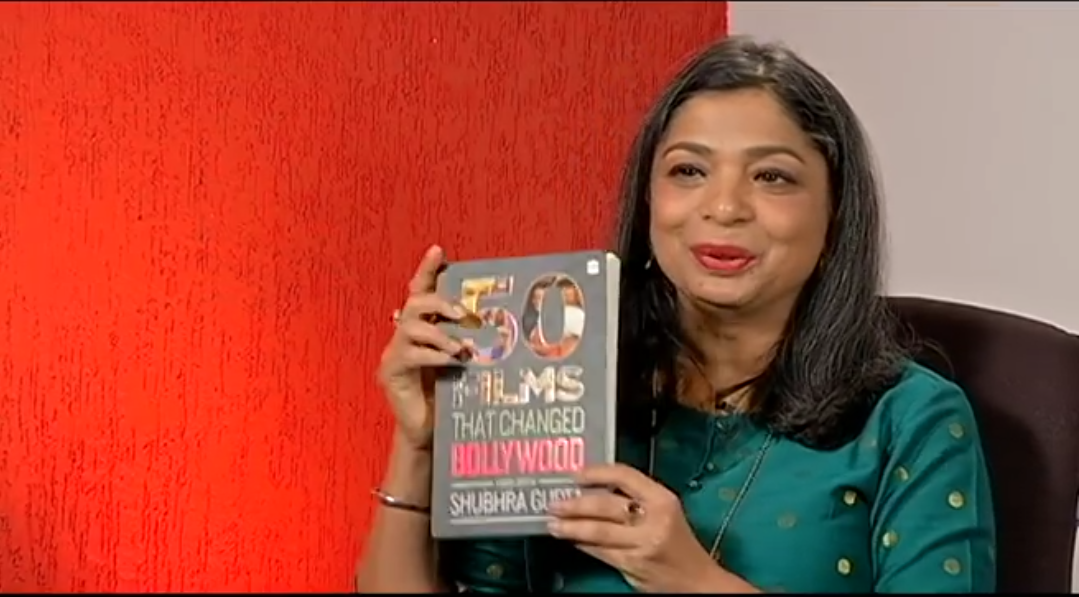 Fifty Films That Changed Bollywood! Book by Shubhra Gupta!