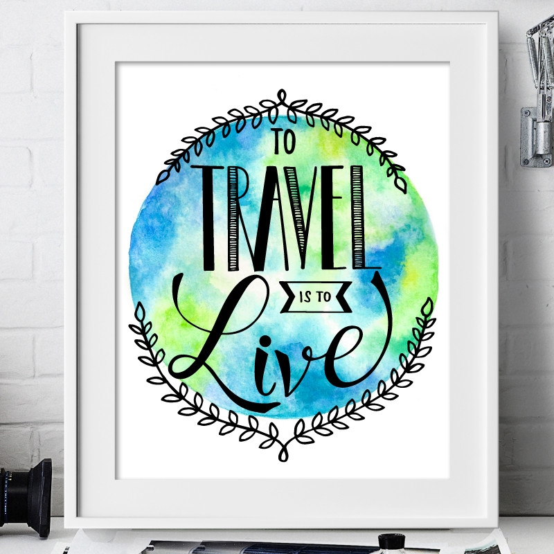 To-travel-is-to-live-FRAME