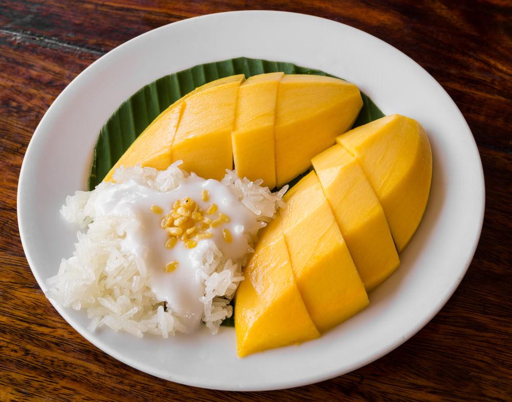 Traditional Thai Food Desserts