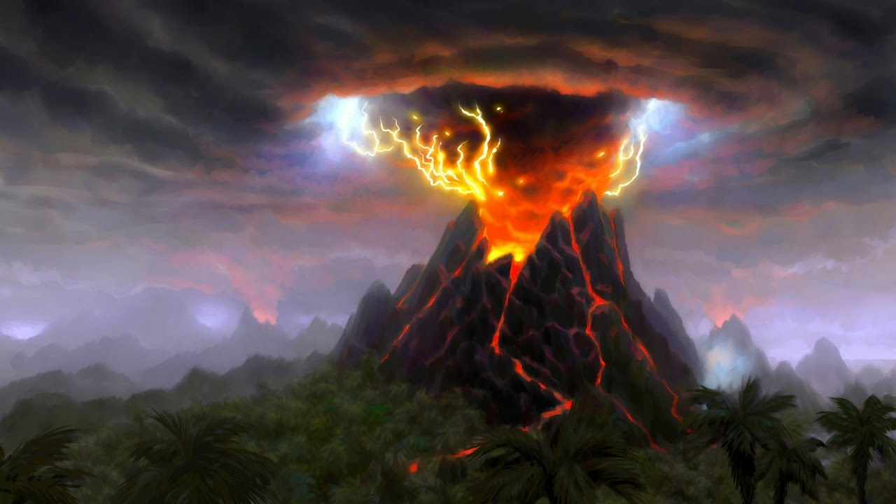 Shield Volcano Facts For Kids