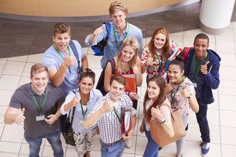 High-school and college life: what is different?