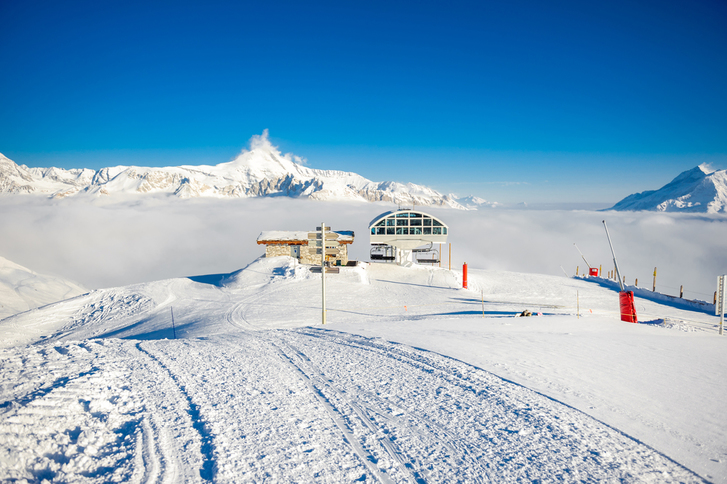 Best destination for skiing in India