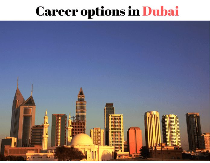 Career options for foreign students in Dubai