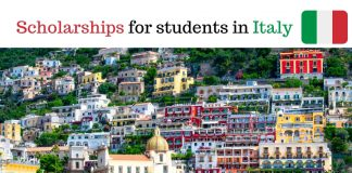 Scholarships for foreign students in Italy
