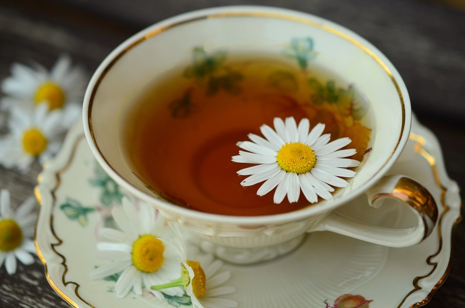 Chamomile tea - A great reliever for menstrual cramps