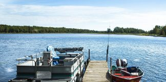 fishing pontoon boats