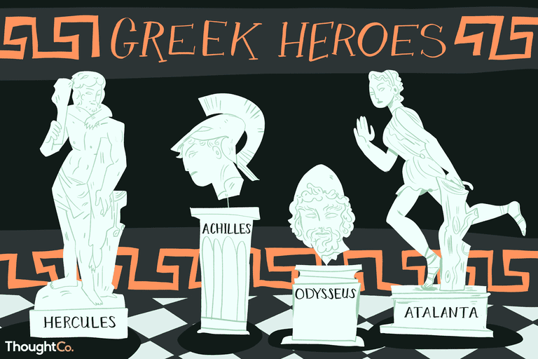 A collection of the most popular Greek Mythologies