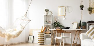 Trendy home interior