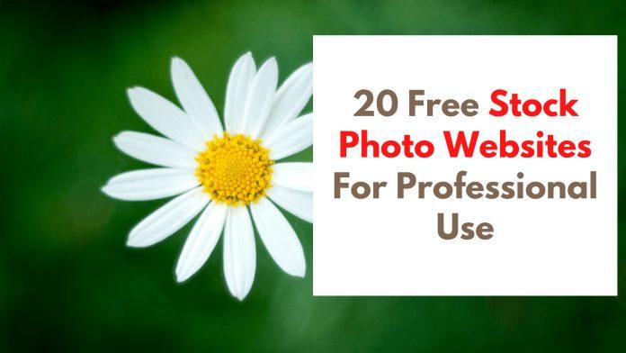 Stock Photo Websites
