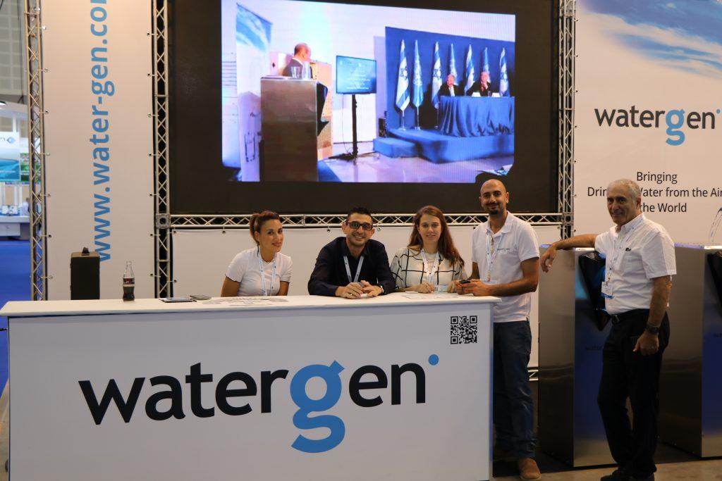 Watergen solving water scarcity