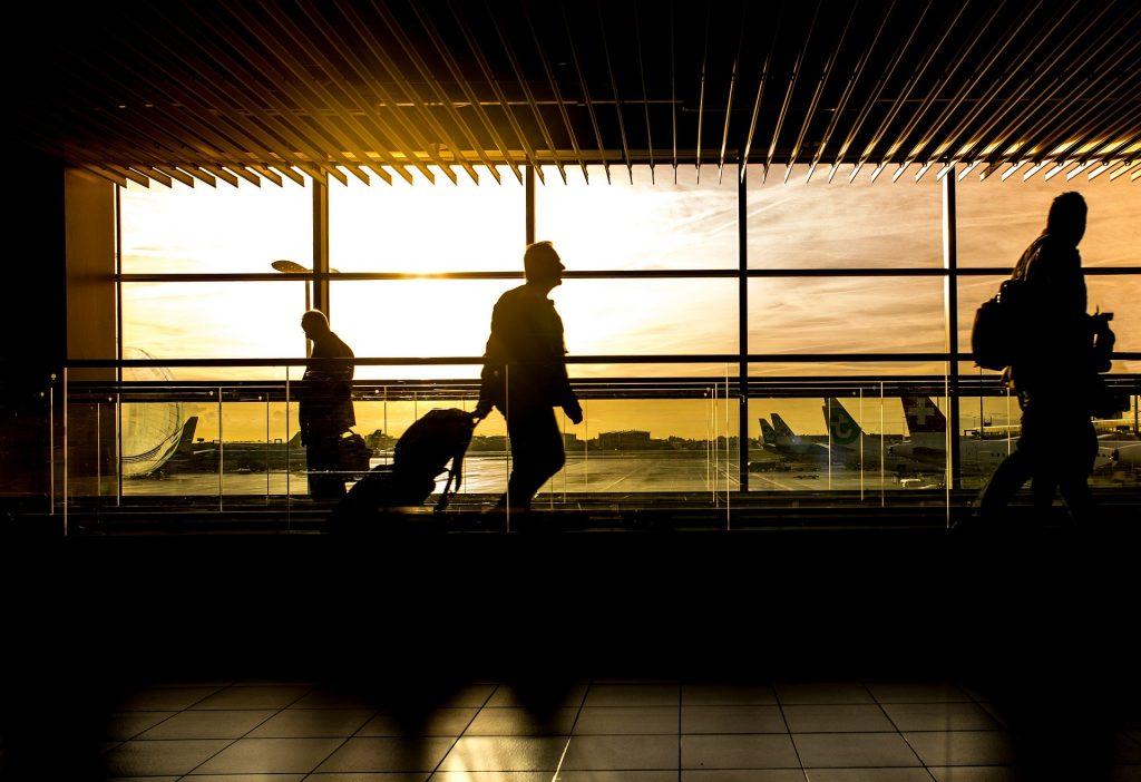 Airport flight coronavirus
