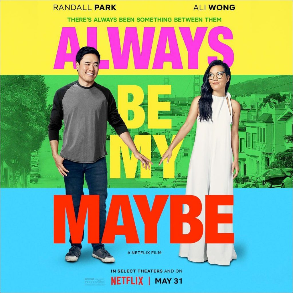 Always be my maybe rom-com