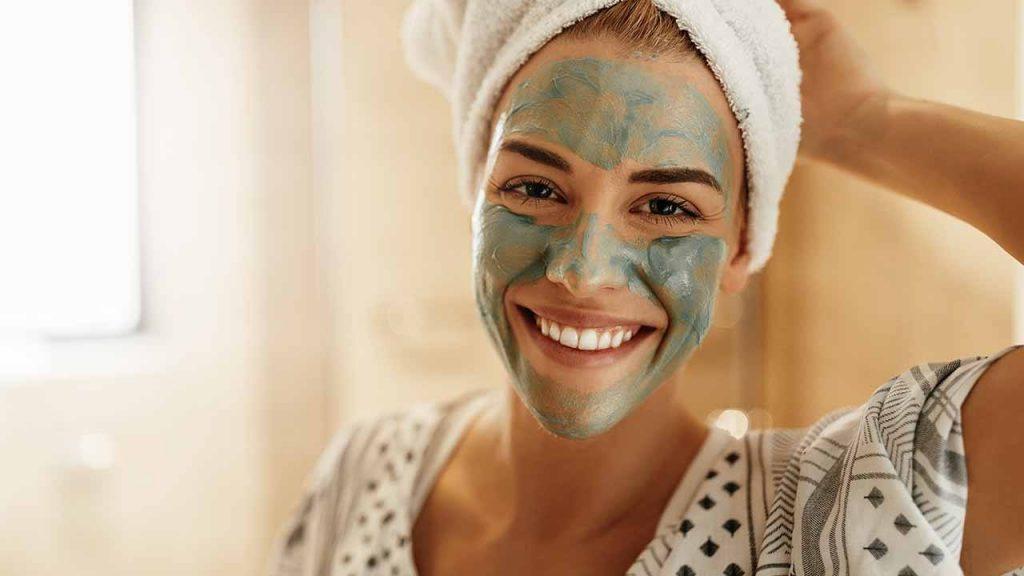 Face skincare skin