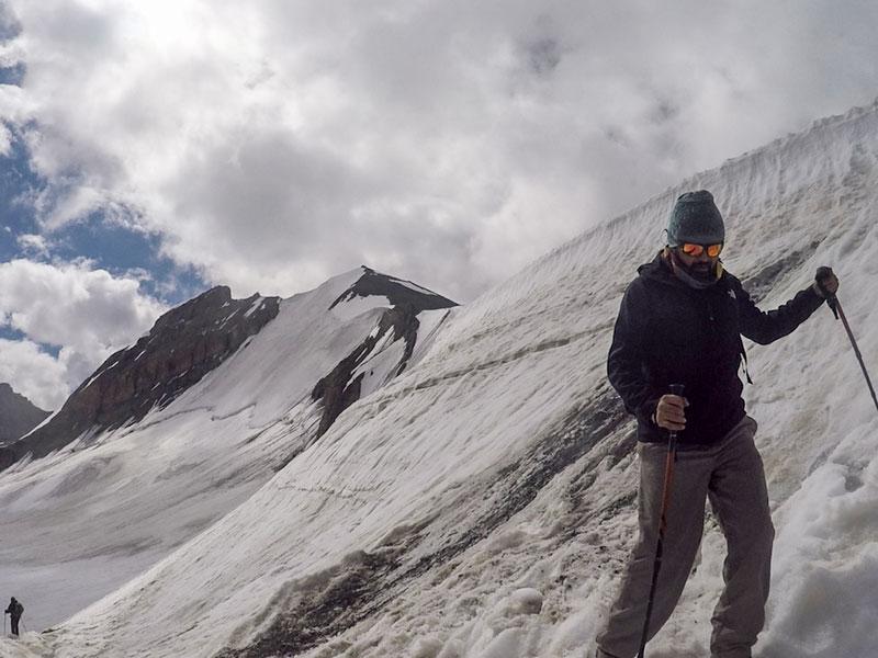 Trekking is adventurous