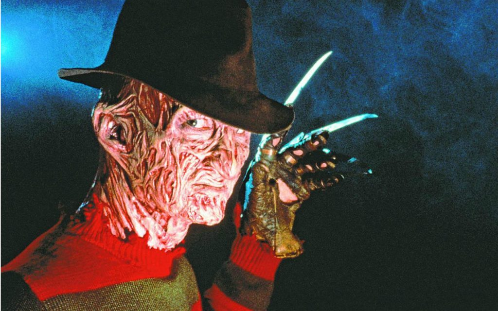 Horror villain Nightmare on Elm Street