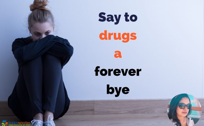 say to drugs foreverbye