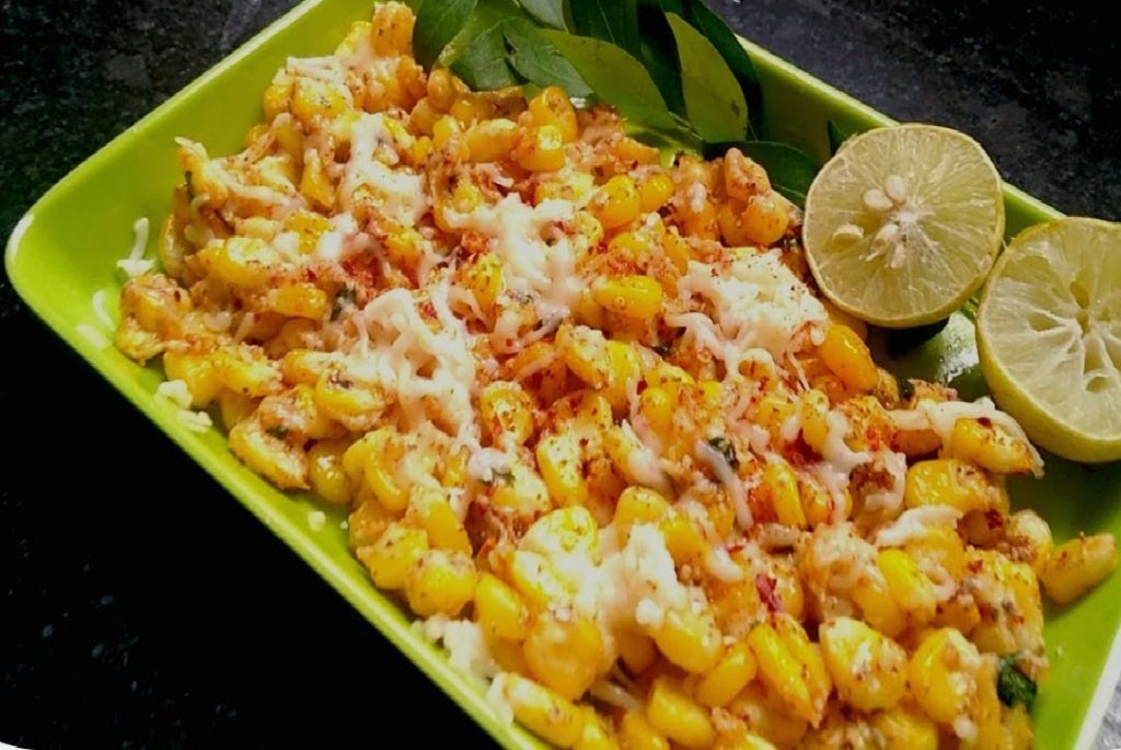 Italian flavored masala corn