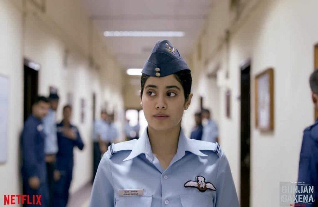 Gunjan Saxena First Look At The Netflix Original Biopic