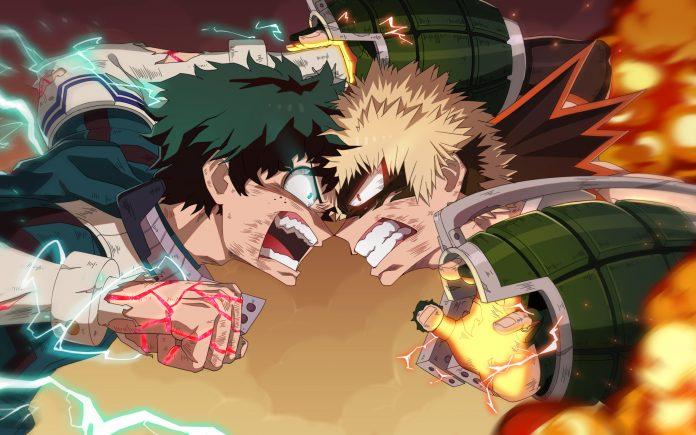 Bakugo vs Deku
