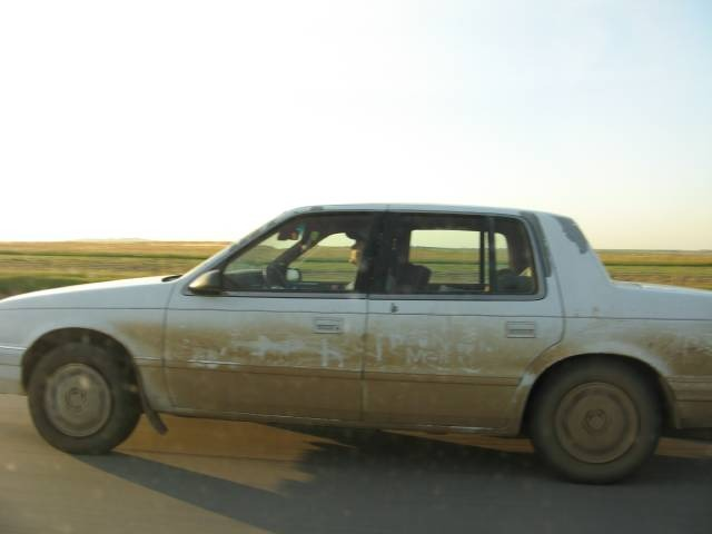Driving a Dirty Car