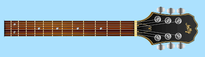 Frets Marked in Order