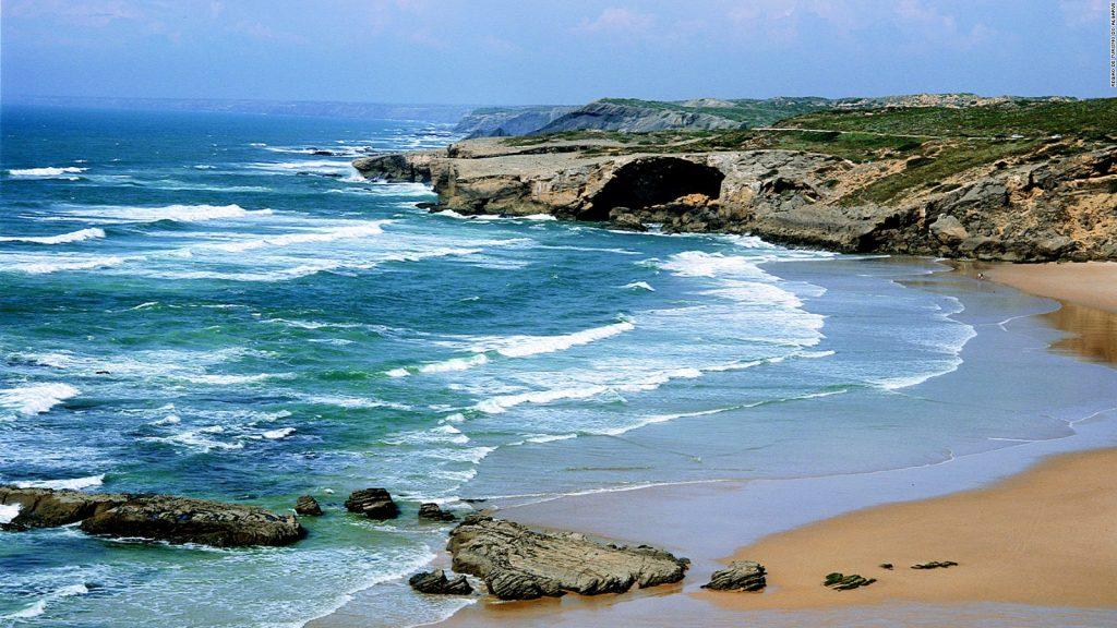 Ocean in Portugal