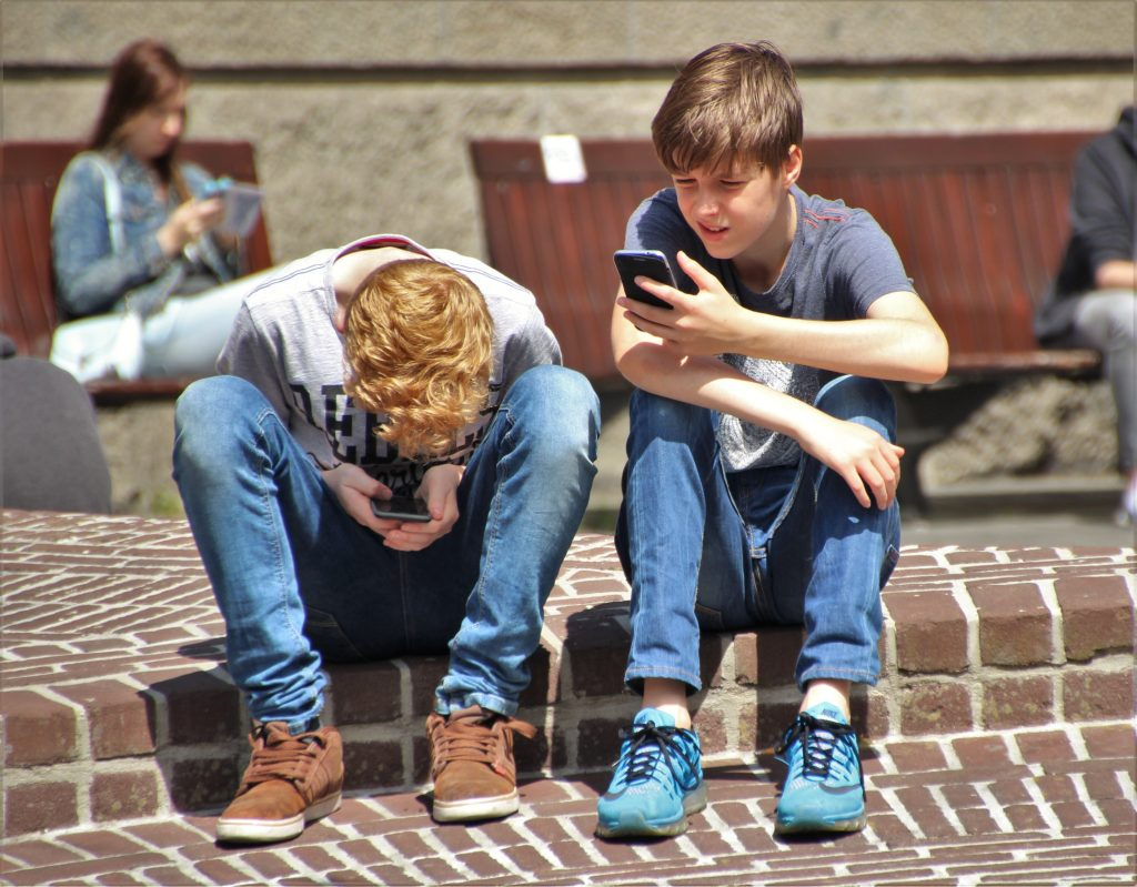 Cyber bullying affects children a lot.