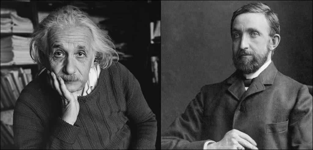 Albert Einstein vs Philipp Lenard