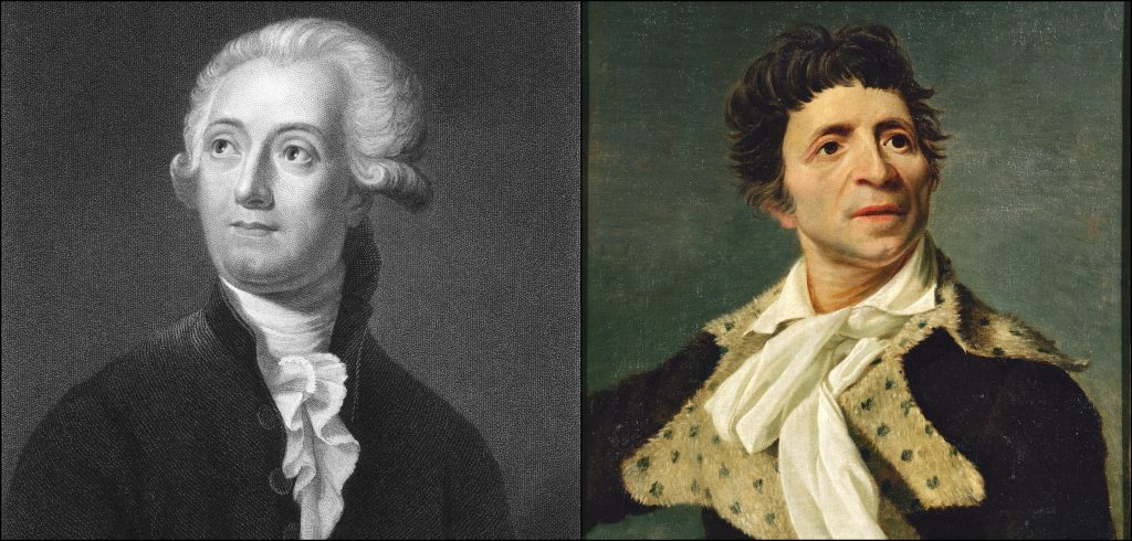 Antoine Lavoisier vs Jean-Paul Marat