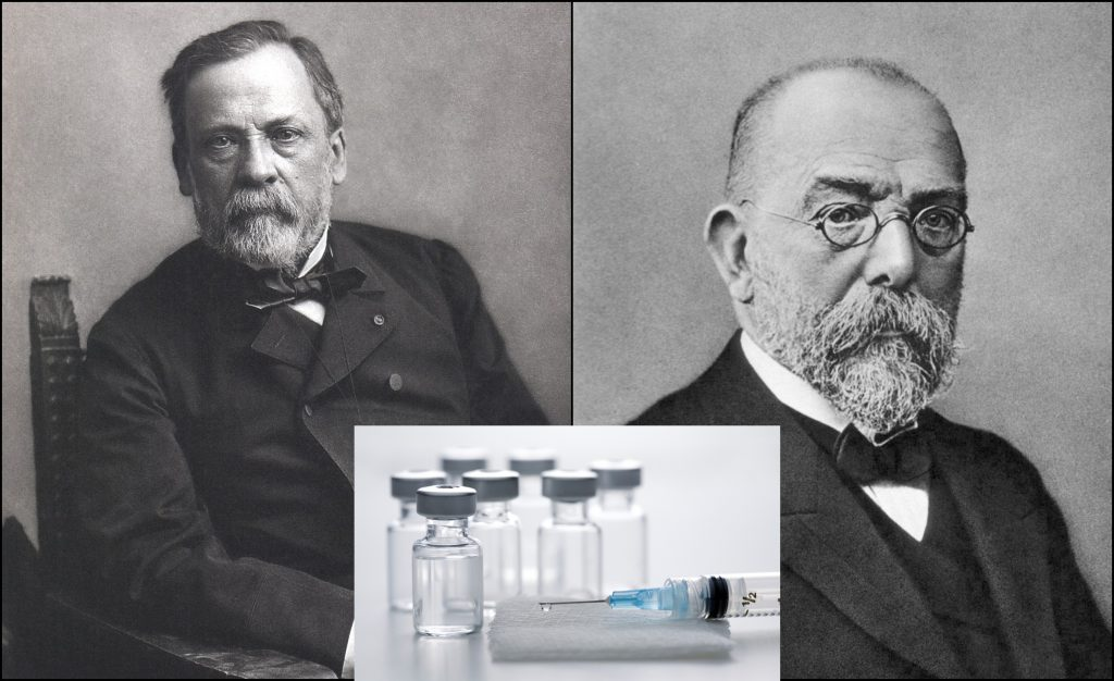Louis Pasteur vs Robert Koch