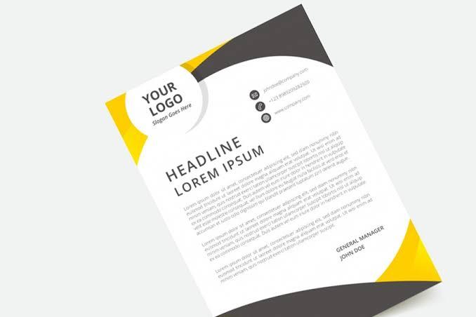 remote letterhead template