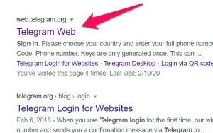 telegram web link
