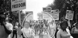 """To make people aware of the """"Rights of Woman"""""""