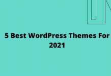 5 Best WordPress Themes