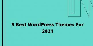 5 Best WordPress Themes