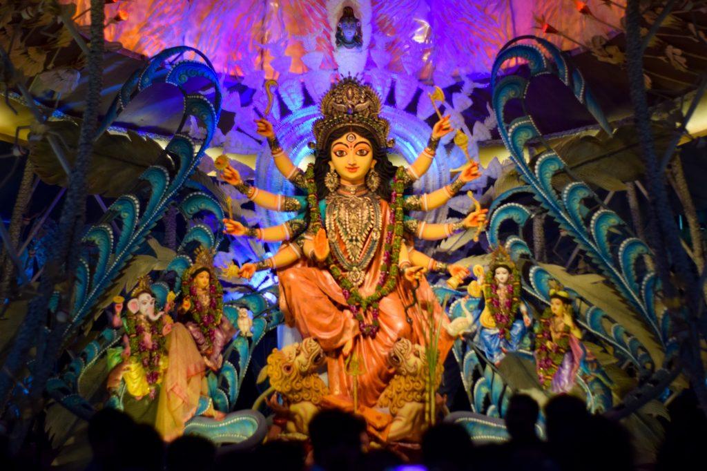 Durga Puja Indian Festival Celebration